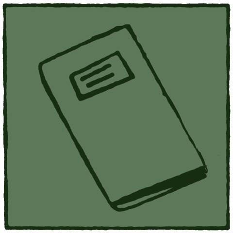 Groen mapje