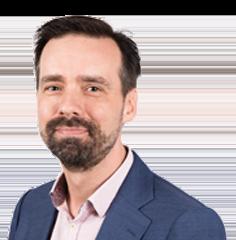 Guus Valk, chef Politiek en Bestuur