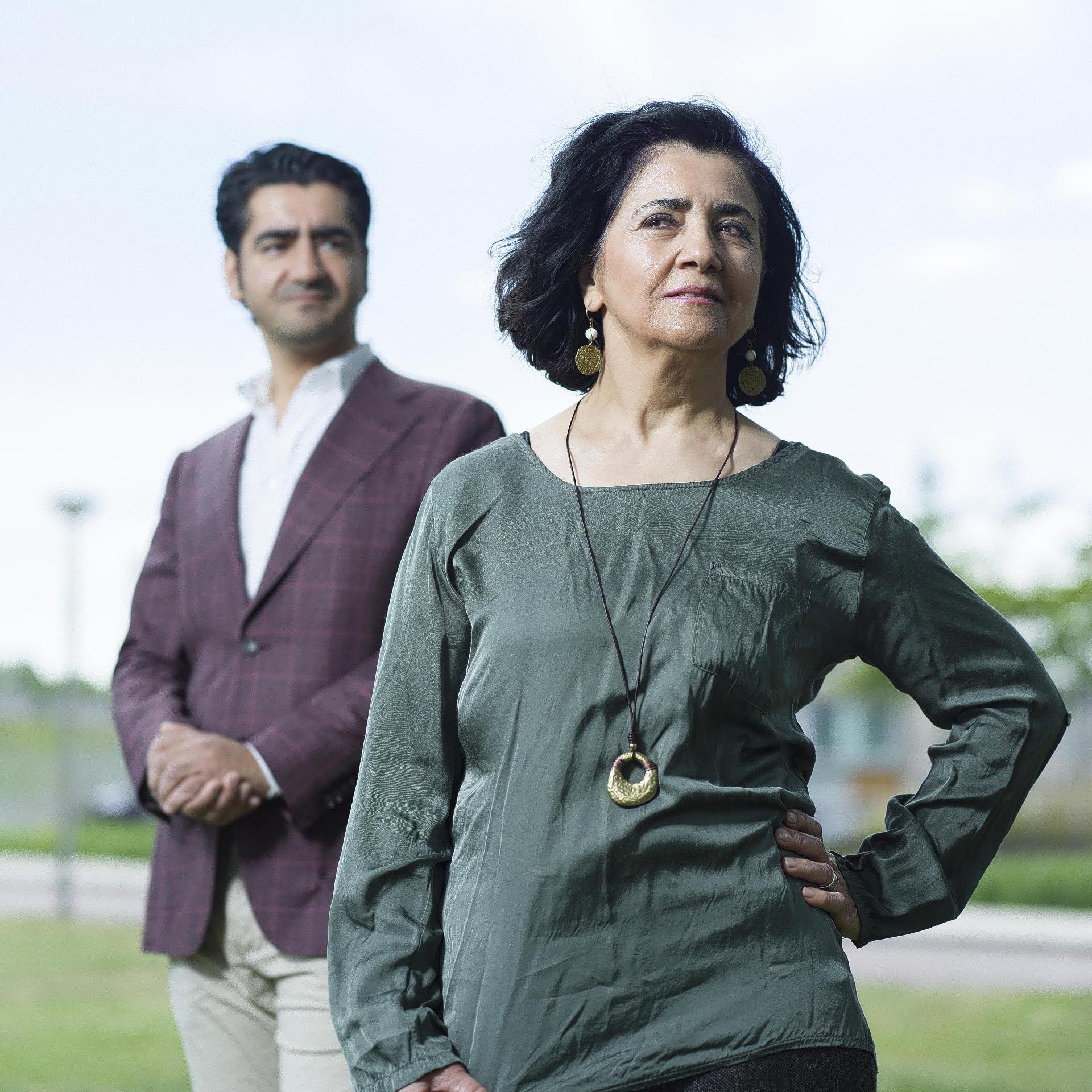 Murat Isik en Aynur Tarhan. Fotografie Merlijn Doomernik.
