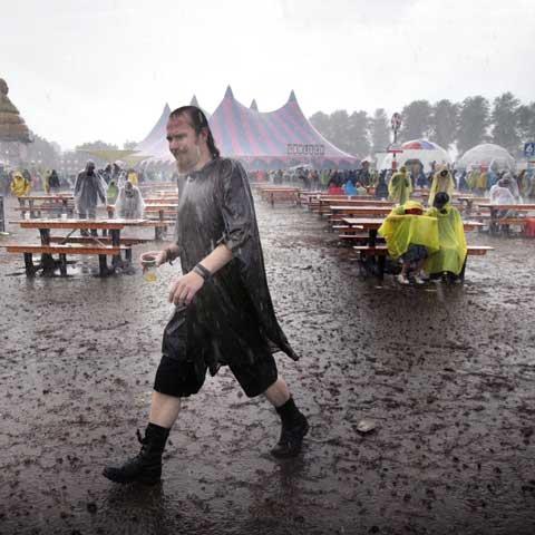 Door de regen, Lowlands 2006