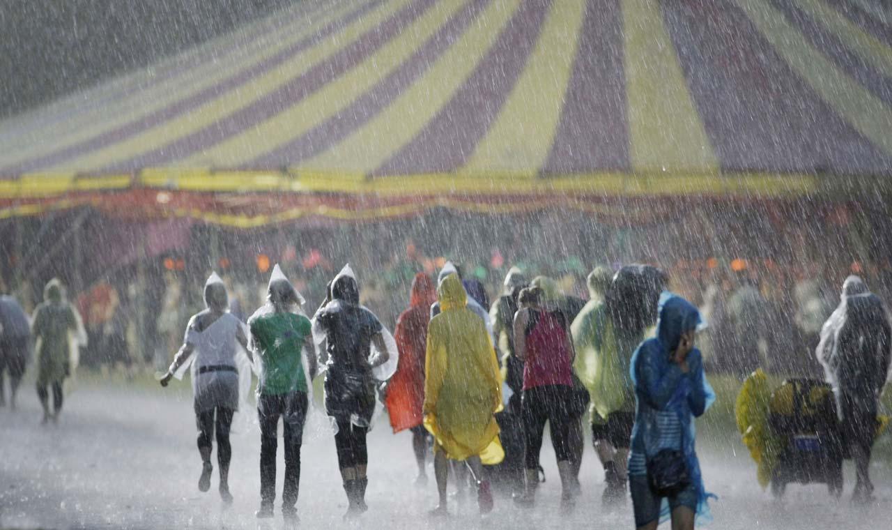 Regen op Lowlands, 2009