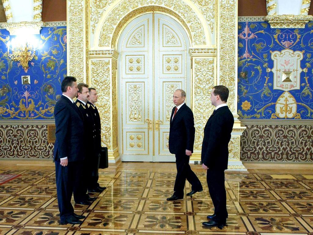 Mikhail Klimentyev / Reuters