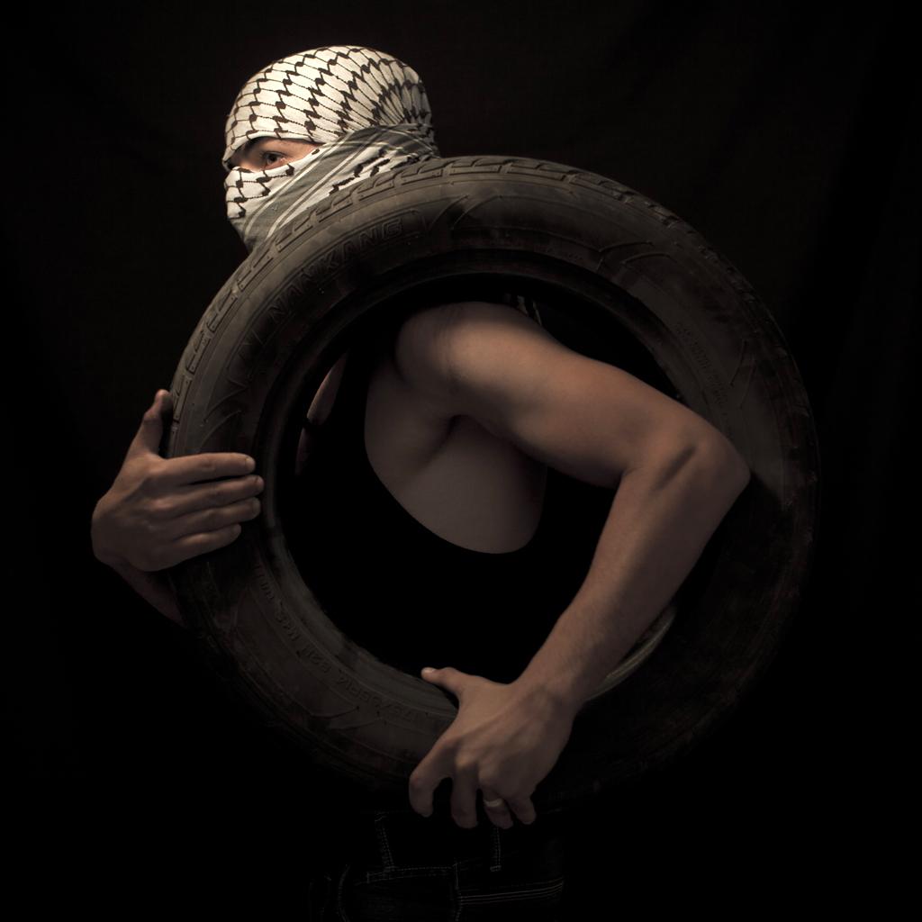 Mideast Israel Palestinians Stone Throwers