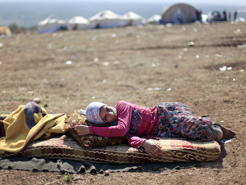 AP / Khalil Hamra