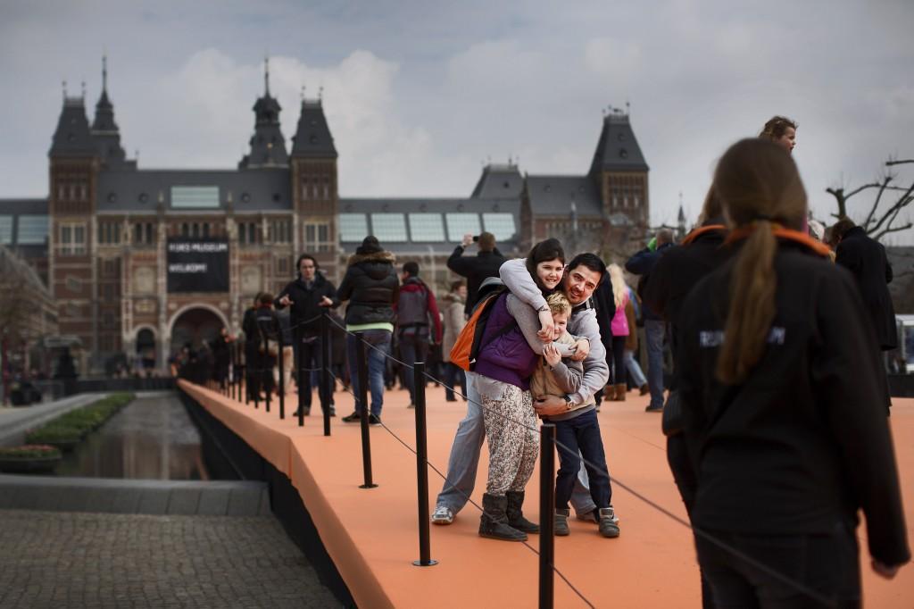 Bezoekers kunnen tot vanavond 0.00 uur gratis het Rijksmuseum bezoeken.