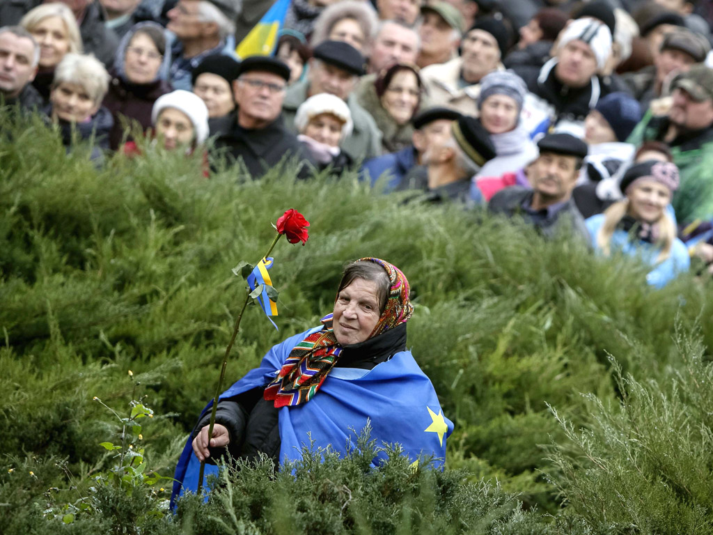 Reuters / Gleb Garanich.