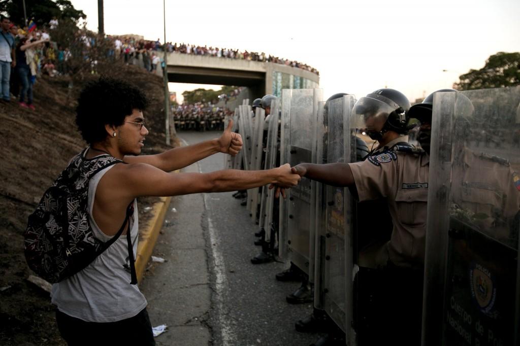 Foto AP /  Alejandro Cegarra