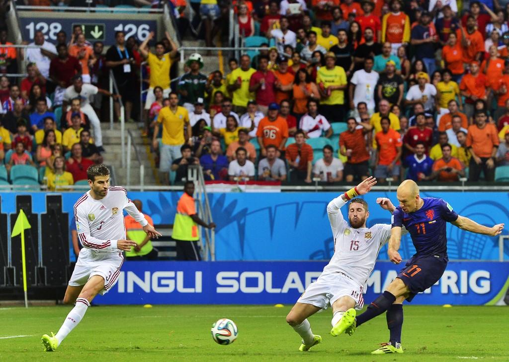 WK voetbal: Spanje vs Nederland