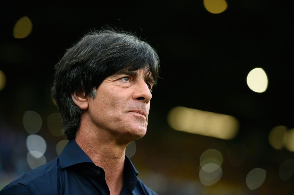Dit kan bij de Duitse coach Joachim Löw door voor een lach.