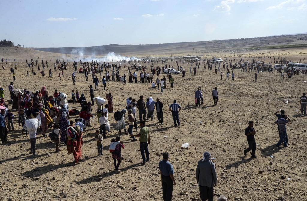 AFP/ Ilyas Akengin