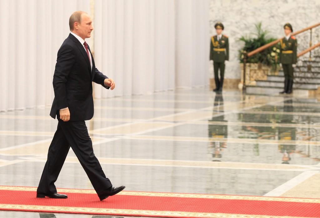 AFP / Tatyana Zenkovich / Pool