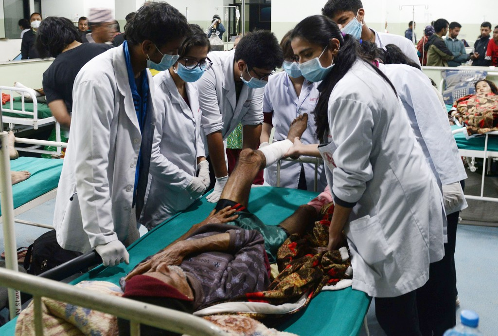 AFP / Prakash Mathema