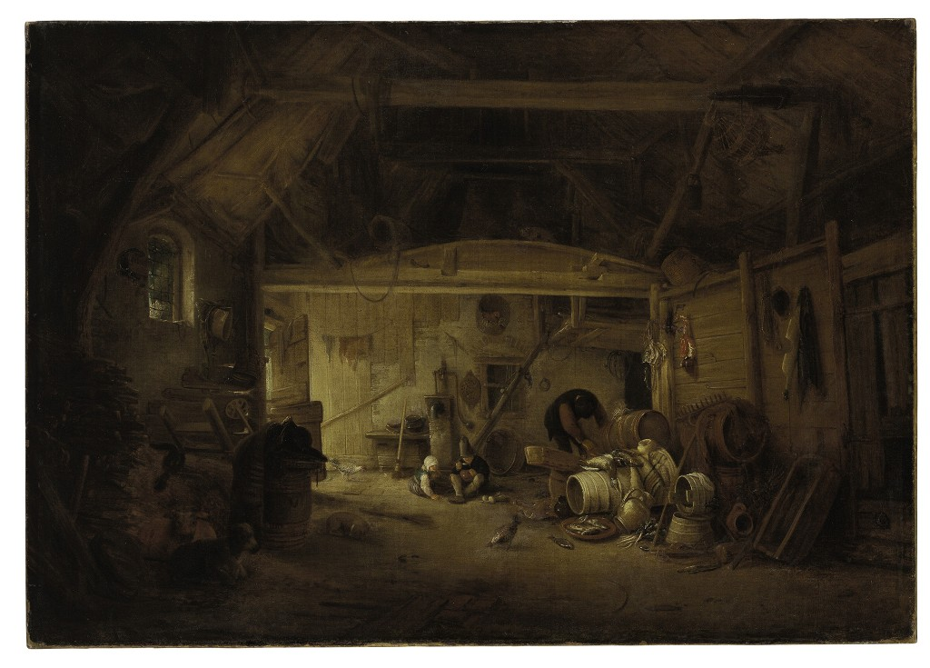 Door: Isack Janszoon van Ostade, uit Haarlem (1621-1649). Op het schilderij: twee etende kinderen en een man die aan het werk is. Olie op canvas. Verwachte opbrengst: 40.000 tot 60.000 dollar (35.000 tot 53.000 euro).