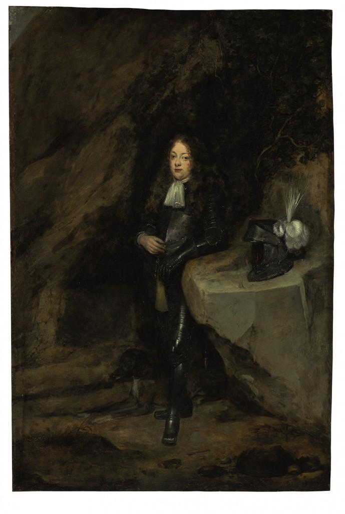 Door: Gerard ter Borch, uit Deventer (1617-1681). Op het schilderij: een jonge man in harnas. Olie op koper. Verwachte opbrengst: 60.000 tot 80.000 dollar (53.000 tot 71.000 euro).