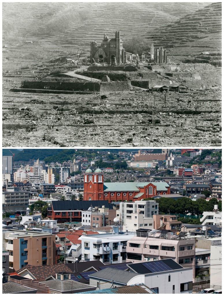Shigeo Hayashi / Nagasaki Atomic Bomb Museum / Handout via Reuters / Issei Kato