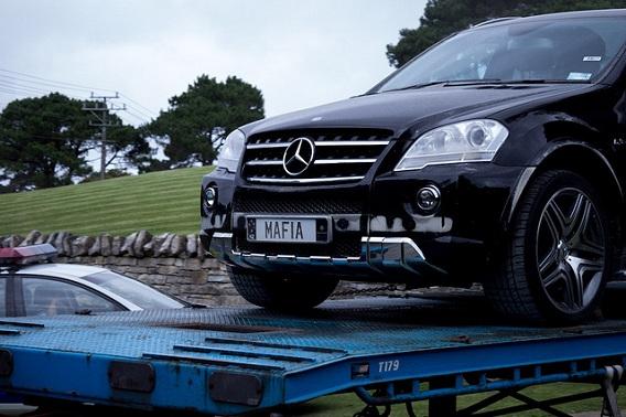 De Mafia-Mercedes van Kim Dotcom