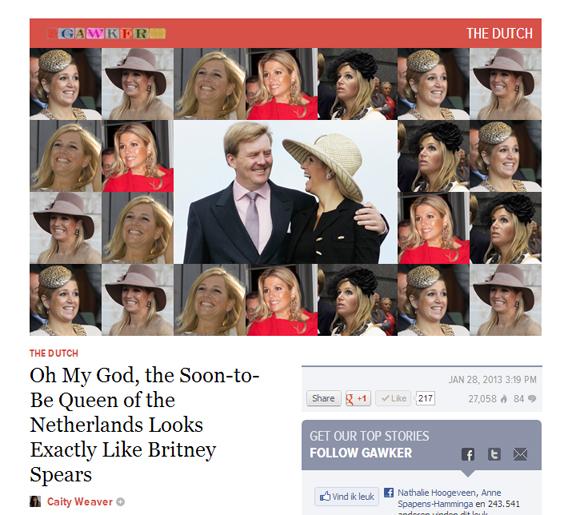 Om het argument kracht bij te zetten heeft Gawker deze collage in elkaar gezet.